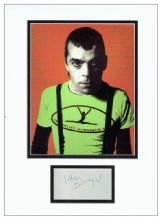 Ian Dury Autograph Signed Display